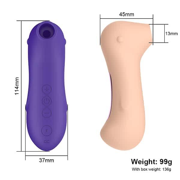 Succionador de clítoris | Tipo Satisfyer B